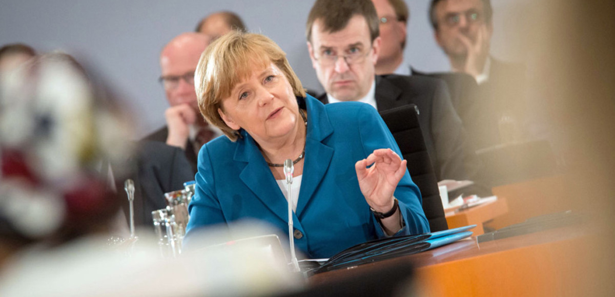 Gnad moderates Working Group during Merkel's Germany Forum